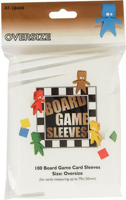 Card Sleeves: Non-Standard Sleeves - Oversize Board Game Sleeves 3.125in x 4.75in (60)