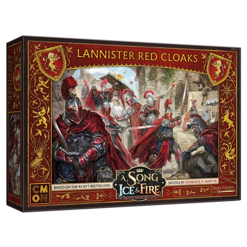 A Song of Ice & Fire Tabletop Miniatures Game: House Lannister - Red Cloaks