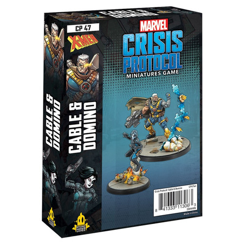 Marvel: Crisis Protocol: Cable & Domino Character Pack