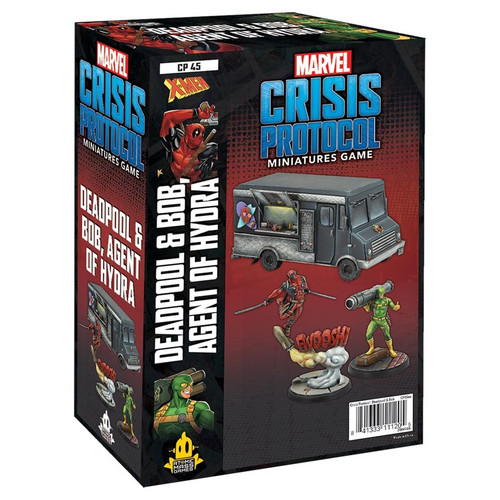 Marvel: Crisis Protocol: Deadpool & Bob, Agent Of Hydra Character Pack