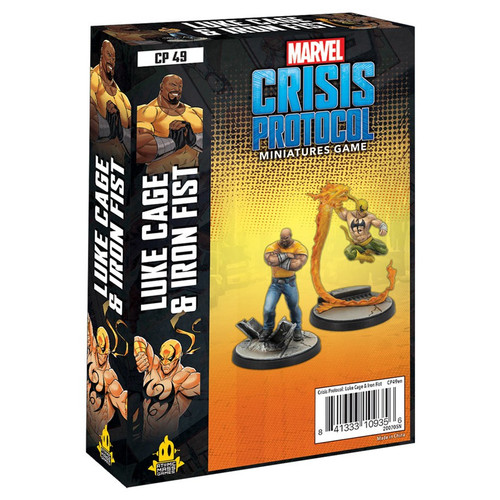 Marvel: Crisis Protocol: Luke Cage And Iron Fist Character Pack