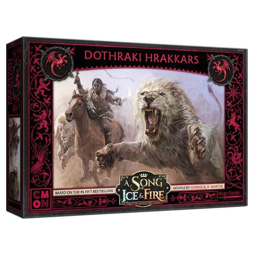 A Song of Ice & Fire Tabletop Miniatures Game: House Targaryen - Dothraki Hrakkers