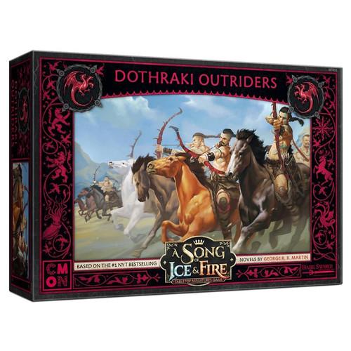 A Song of Ice & Fire Tabletop Miniatures Game: House Targaryen - Dothraki Outriders