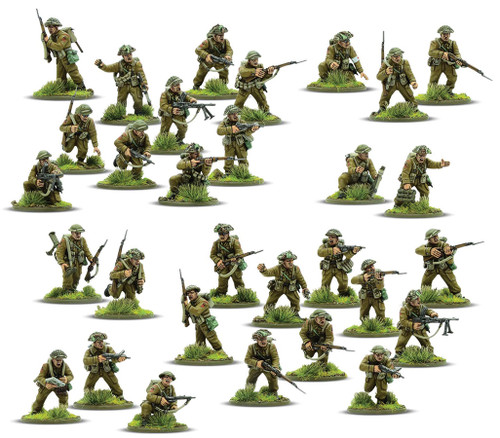 Bolt Action: British & Canadian Army Infantry (1943-1945)