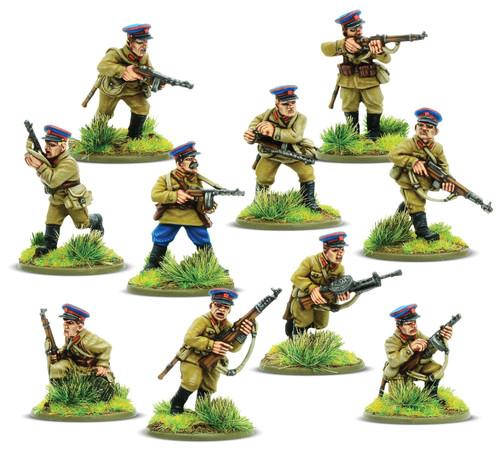 Bolt Action: Soviet NKVD Squad