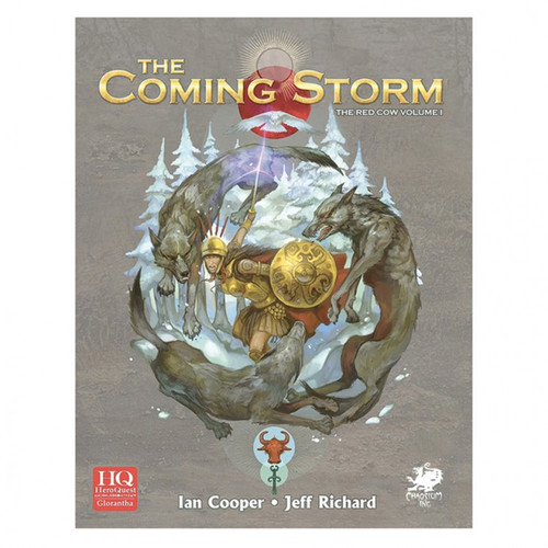 Miscellanous RPGs: HeroQuest Glorantha: The Coming Storm - Campaign for HeroQuest Glorantha Vol. 1 Hardcover