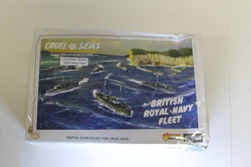 Cruel Seas: British Royal Navy Fleet Sealed (box damaged but contents intact) [U-B3S1 282459]
