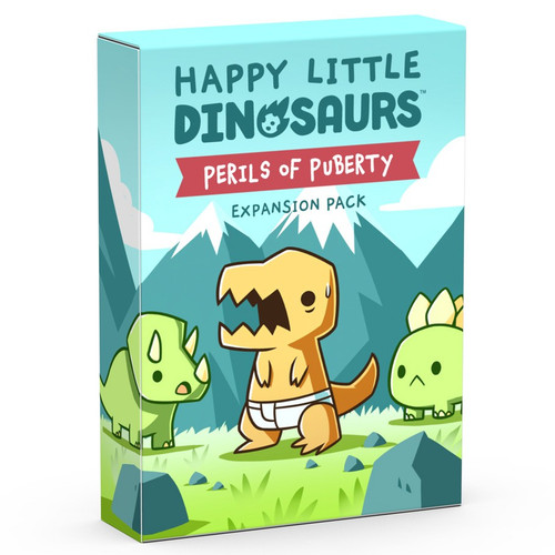 Board Games: Happy Little Dinosaurs: Perils Of Puberty Expansion