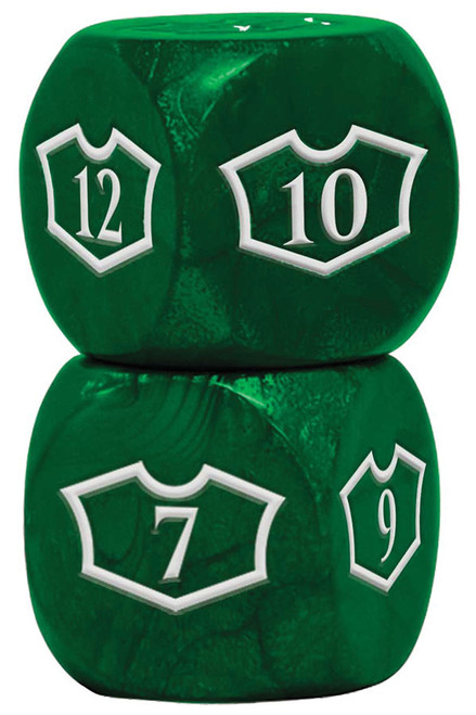 Dice and Gaming Accessories Game-Specific Dice Sets: Deluxe 22mm Forest Loyalty Dice Set