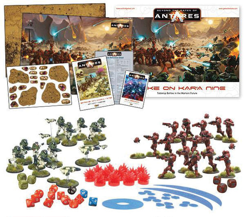 Beyond the Gates of Antares: Strike on Kar'A Nine Starter Set
