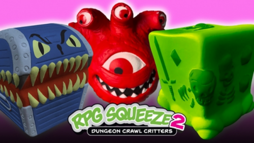 Blind Box: RPG Squeeze Series 2 - Dungeon Crawl Critters