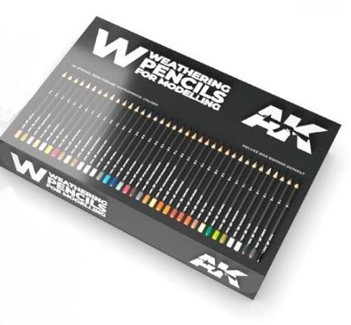 Paint: Weathering Pencils for Modelling: Deluxe Edition Box Set (37)