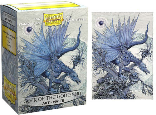 Card Sleeves: Other Printed Sleeves - Dragon Shields: (100) Matte Art - Word of the God Hand