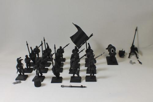 Warhammer AoS Empire Lot - General, Spearmen (20) Plastic OOP [U-B8S5 282329]
