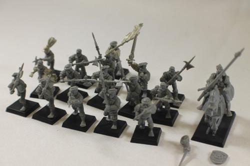 Warhammer AoS Empire Lot - General, Halbrediers (16) Plastic OOP [U-B8S5 282331]