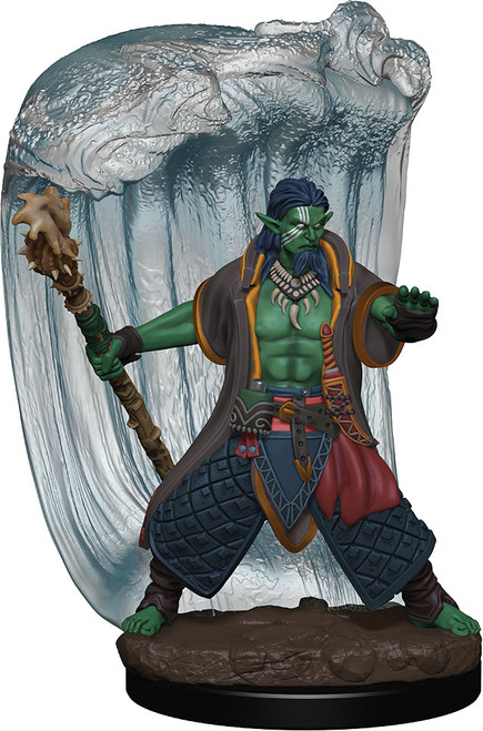 (Preorder) RPG Miniatures: Icons of the Realms - Water Genasi Druid Male Premium Figure