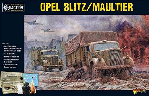 Bolt Action: German Opel Blitz/Maultier