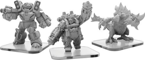 Monpoc: Protectors -  Carnidon, Exo-Armor, and Assault Ape (Alternate Elite Units)