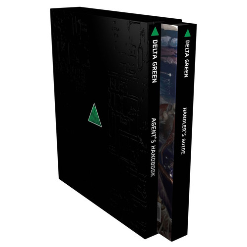 Miscellanous RPGs: Delta Green RPG: The Role-Playing Game (Slipcase)