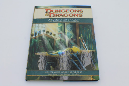 D&D 4th Edition Adventurer's Vault [U-B5S3 285270]