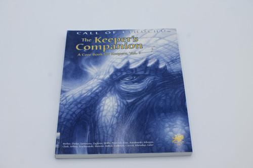 Call of Cthulu The Keeper's Companion RPG [U-B5S3 285266]