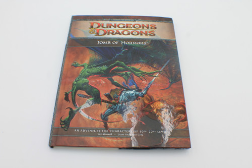 D&D 4th Edition Tomb of Horrors with Map [U-B5S3 285273]