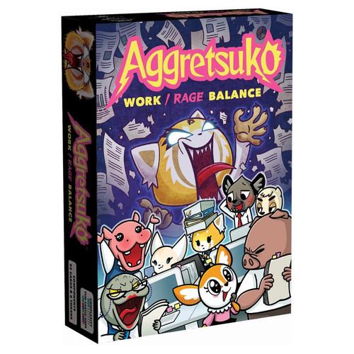 Card Games: Aggretsuko - Work/Rage Balance