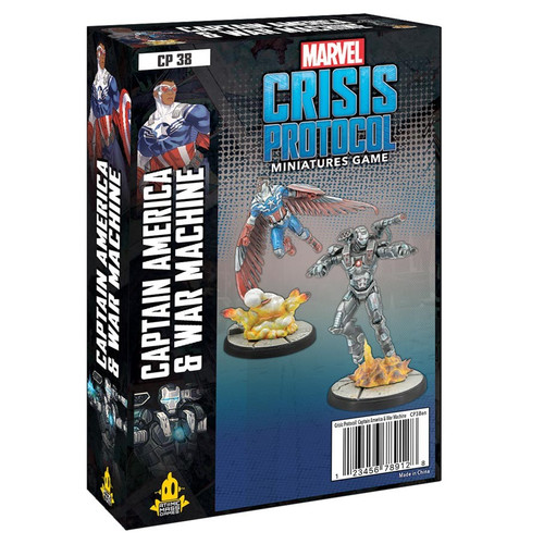 Marvel: Crisis Protocol: Captain America & War Machine Character Pack