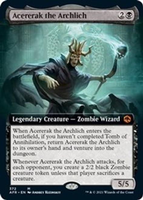 Acererak the Archlich (Extended Art) - Adventures in the Forgotten Realms