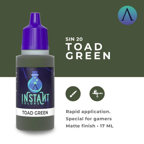 Paint: Scale75 - Instant Colors Toad Green (17mL)