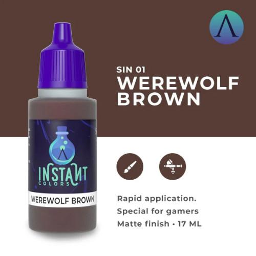 Paint: Scale75 - Instant Colors Werewolf Brown (17mL)
