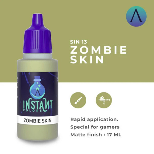Paint: Scale75 - Instant Colors Zombie Skin (17mL)