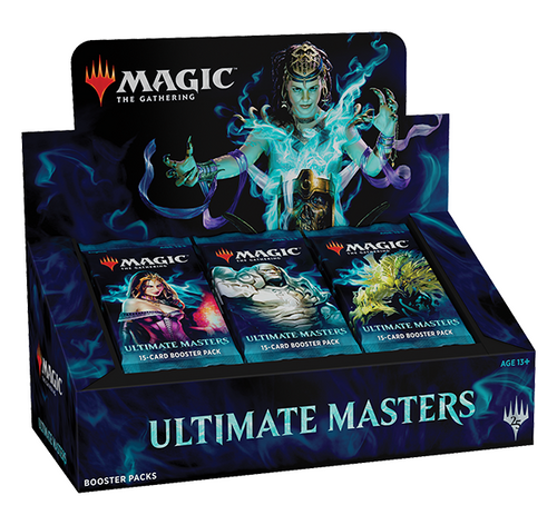 Magic The Gathering Sealed: Ultimate Masters - Ultimate Masters Booster Box