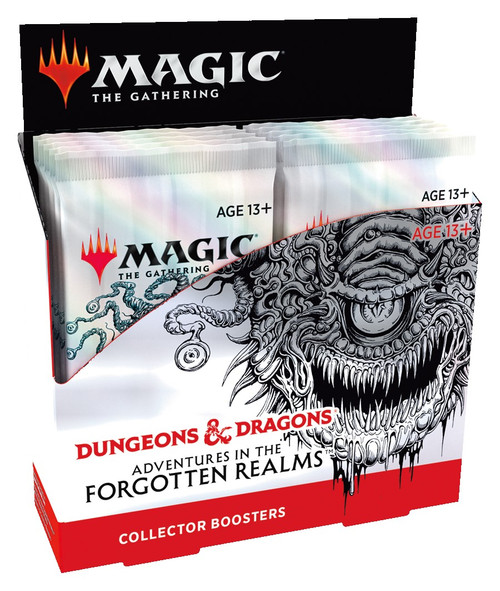 Magic The Gathering Sealed: Adventures in the Forgotten Realms - AFR Collector Booster Display (12)