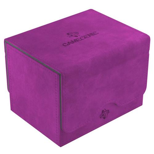 Deck Boxes: Premium Single Dboxes - Purple Sidekick 100+