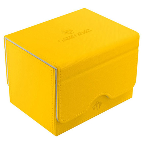 Deck Boxes: Premium Single Dboxes - Yellow Sidekick 100+