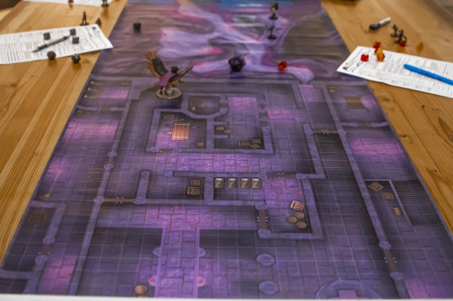 General Playmats and Tiles: Infinidungeon: The Gates of Aguafuus
