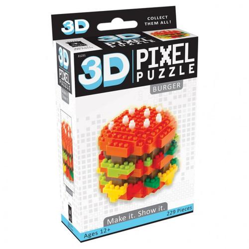 Puzzles: Puzzle 3D Pixel Cheeseburger
