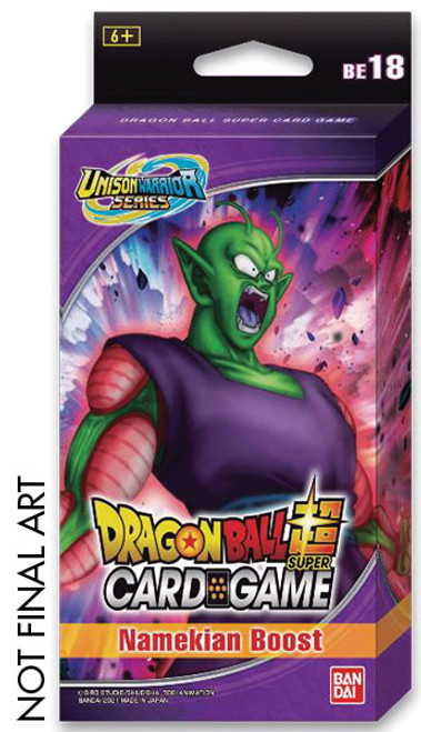 DragonBall Super: Boosters and Booster Boxes - Namekian Boost - Expansion Set 18 (BE18)