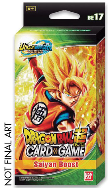DragonBall Super: Boosters and Booster Boxes - Saiyan Boost - Expansion Set 17 (BE17)