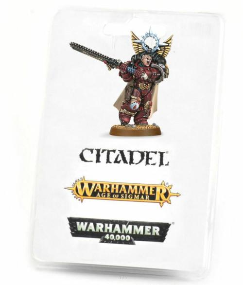 Warhammer 40K: Blood Angels - Flesh Tearers Chapter Master Gabriel Seth