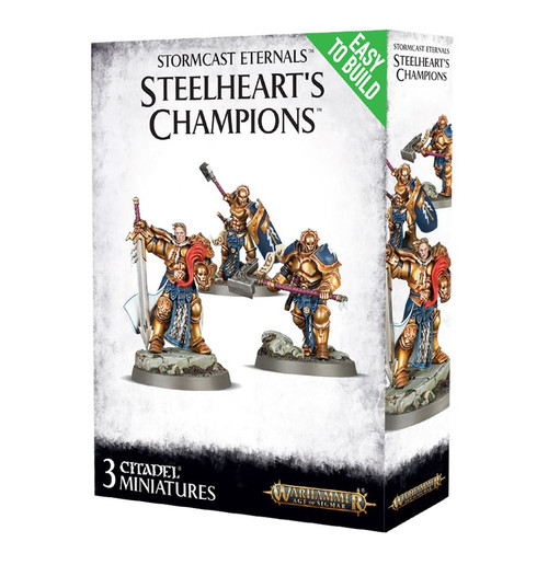 Warhammer: Age of Sigmar: Grand Alliance: Order - Stormcast Eternals Easy To Build: Steelheart's Champions