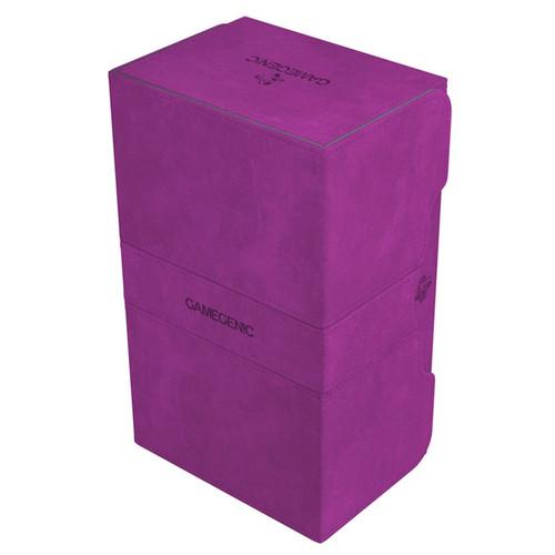 Deck Boxes: Premium Multi Dboxes - Purple Stronghold 200+