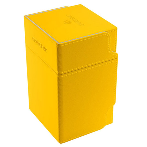 Deck Boxes: Premium Single Dboxes - Yellow Watchtower 100+