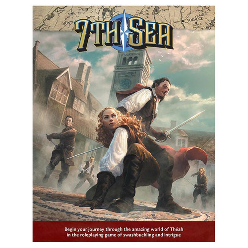 Miscellanous RPGs: 7th Sea Rpg: 2nd Edition - Core Rulebook Hardcover
