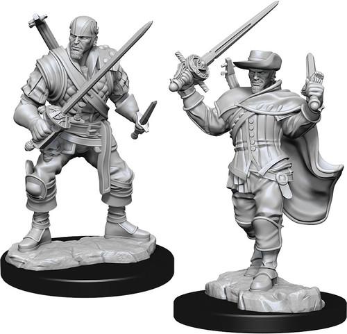 RPG Miniatures: Adventurers - Nolzur's Marvelous Unpainted Minis: Human Bard Male