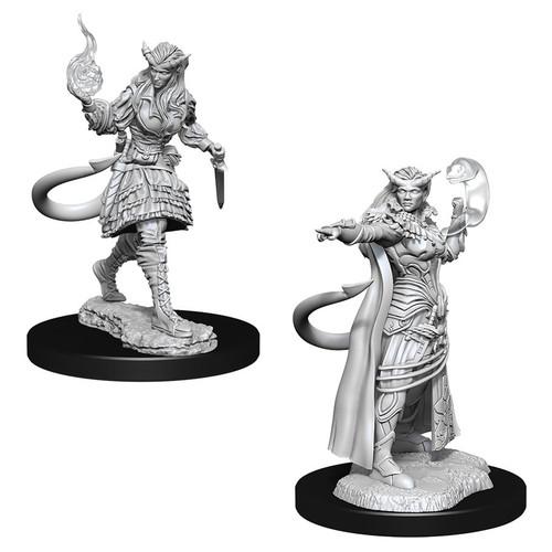 RPG Miniatures: Adventurers - Nolzur's Marvelous Unpainted Minis: Tiefling Sorcerer Female