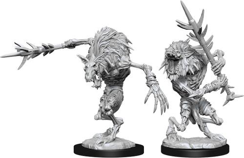 RPG Miniatures: Monsters and Enemies - Nolzur's Marvelous Unpainted Minis: Gnoll Witherlings