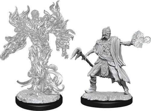 RPG Miniatures: Monsters and Enemies - Nolzur's Marvelous Unpainted Minis: Allip & Deathlock