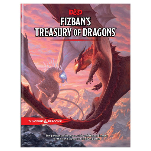 (Preorder) Dungeons & Dragons: Books - Fizban's Treasury of Dragons